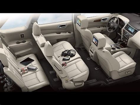 nissan pathfinder 2015 interior 2015 nissan pathfinder interior youtube