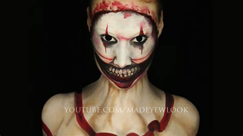 the story of makeup american horror story freak show makeup tutorial twisty