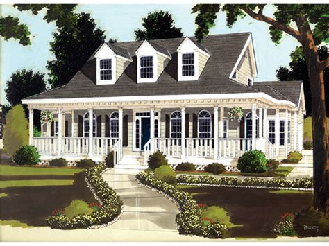 Plantation Home Plans Farson Southern Plantation Home Plan 089d 0013 House