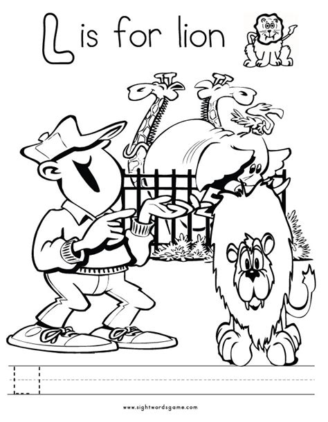 l words coloring page alphabet coloring pages