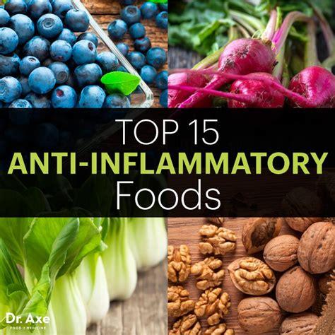 anti inflammatory top 15 anti inflammatory foods dr axe