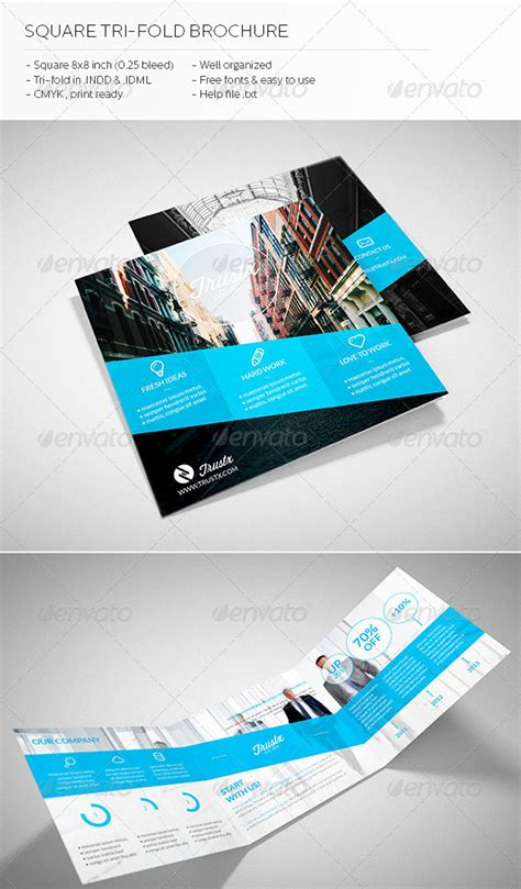 30 High Quality Indesign Brochure Templates Web Graphic Design Bashooka Tri Fold Flyer Template Indesign