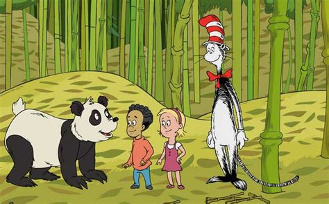 Bamboozled Dr Seuss Cat In The Hat panda the cat