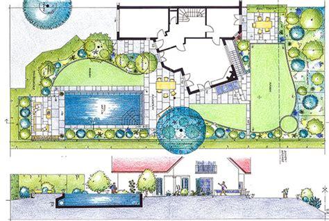Garten Gestalten Grundriss gartenplanung planbeispiele grundrisse egli gartenbau ag uster