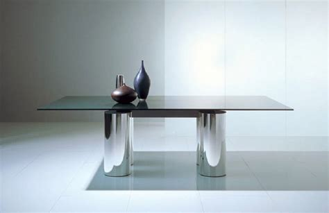 glass dining room table bases 55 glass top dining tables with original bases digsdigs