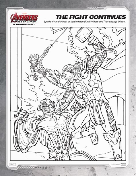 coloring page ultron avengers age of ultron coloring sheets avengers