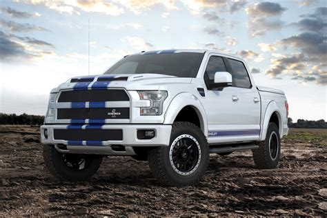 2017 ford gt 700hp shelby brings the blue thunder to sema with 700hp f 150