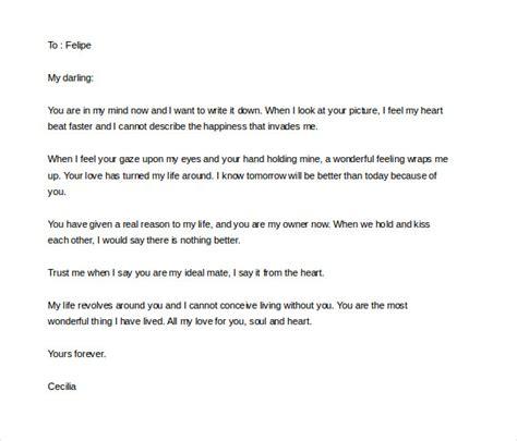 love letter sles for him portablegasgrillweber com letter template for him 28 images 6 letter templates