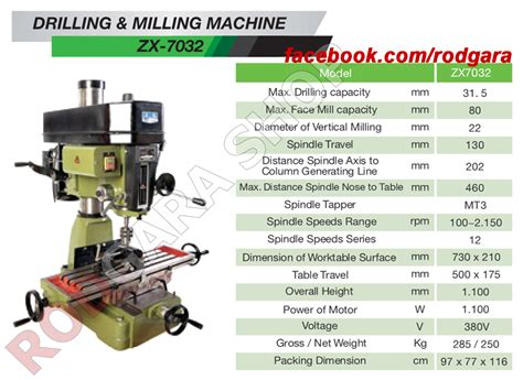 Bor Duduk Westlake 16mm jual westlake zx 7032 32mm mesin bor duduk drilling milling west lake rodgara shop
