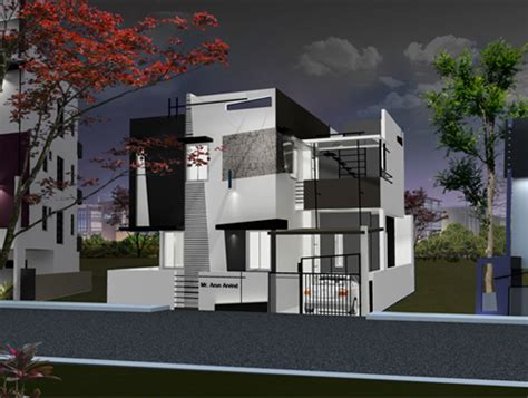 home design ideas bangalore beautiful front elevation house design by ashwin architects