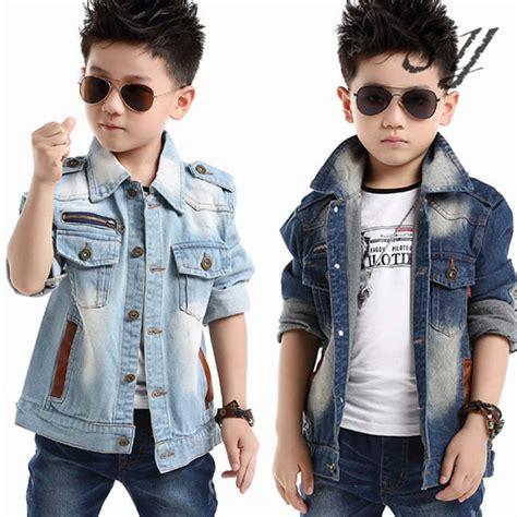 Jaket Levis Boy Hoodie Best Seller brand denim jaket children autumn kid boy