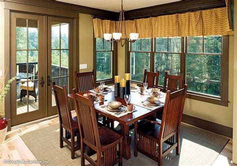 riva ridge house plan an exceptional view is enjoyed at every meal the riva