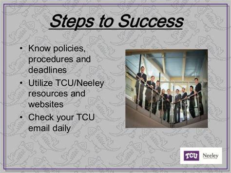 Tcu Mba Application Deadline by Tcu Neeley School Of Business Orientation