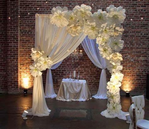 Pipe N Drape Decoraci 243 N Con Flores Gigantes De Papel Dale Detalles