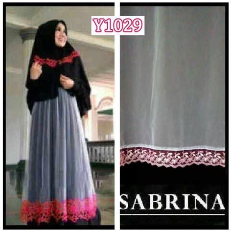 Rukma 3 Sabrina Baju Gamis baju gamis modern set bergo cantik sabrina y1029 model pesta