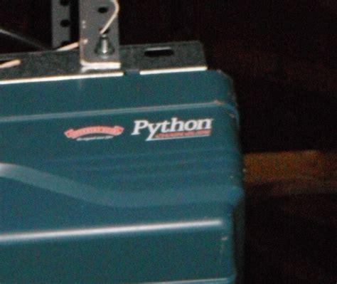 Python Garage Door Opener by Garage Python2 Garage Door Opener Home Garage Ideas