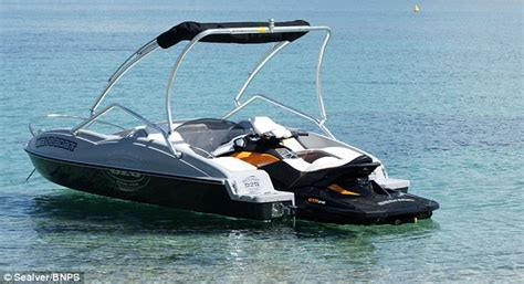 8 seater boat wave boat 444 converts a jet ski into a five seater boat