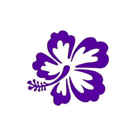 Samoan Home Decor by Hawaiian Flower Hibiscus Vinyl Decal Sticker Windows Buy2