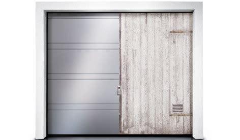 jalousien nachträglich einbauen garagentor renovieren neuer anstrich folie oder