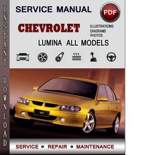 car owners manuals free downloads 1997 chevrolet monte carlo regenerative braking chevrolet lumina service repair manual download info service manuals