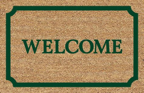 Welcome Home Mats by Second Marketplace Welcome Home Mat