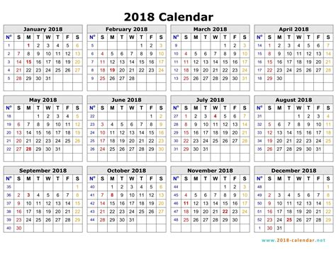 printable calendar 2018 by week weekly calendar 2018 calendar printable free