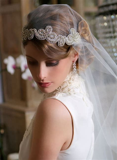 Wedding Hair Accessories With Veil by Glam Bridal Hair Accessories Archives Weddings Romantique