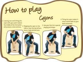 how to play cajons nino 174 percussion