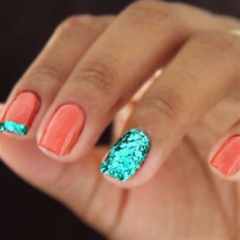 one finger nail different color pictures nail polish ideas for ring finger in different colors