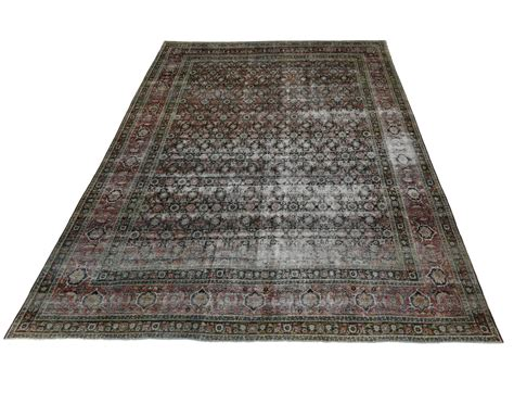 oversized rugs distressed antique yazd oversize rug for sale at 1stdibs