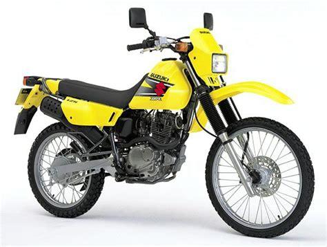 Dr 125 Suzuki Suzuki Dr125se Model History