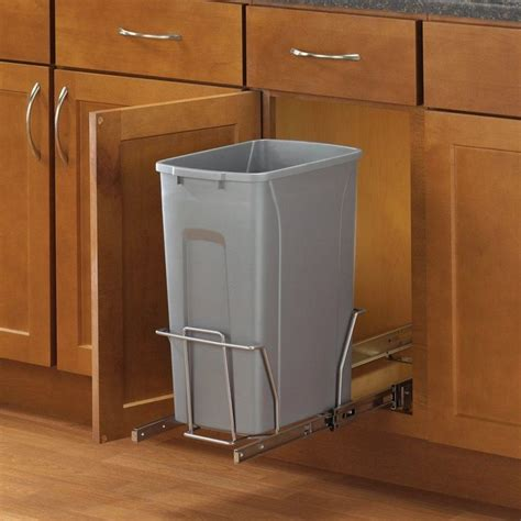 sliding trash can sink 25 best ideas about trash can cabinet on