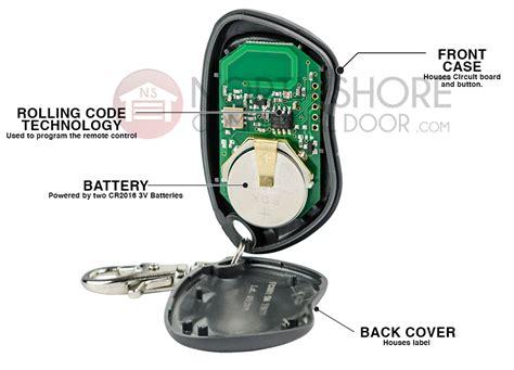 Monarch Garage Door Opener Transmitter Solutions Monarch 318lipw1k Keychain Remote