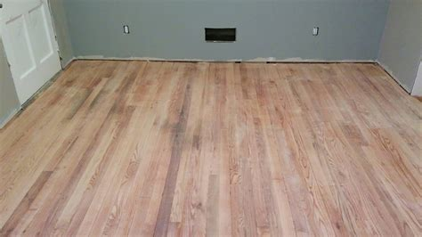 flooring   sanding       refinish  wood floor home improvement stack