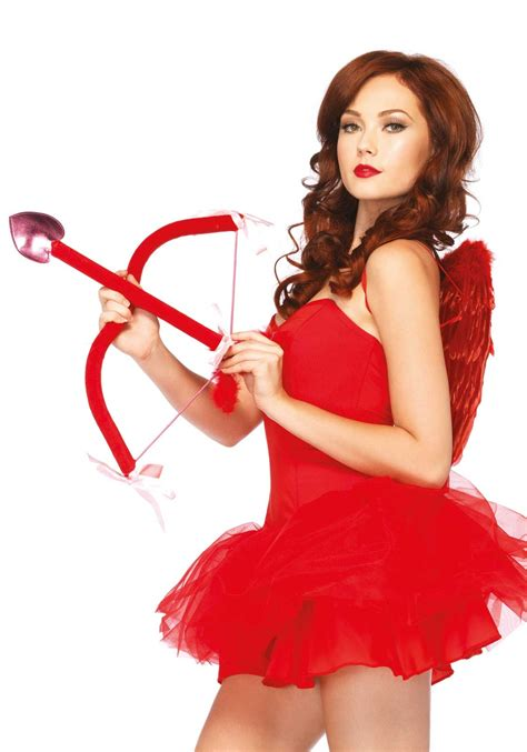 valentines costume shop 3pc bow arrow and wings leg avenue
