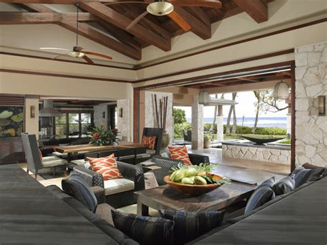 hawaiian living room applegate interiors tropical living room hawaii by applegate interiors
