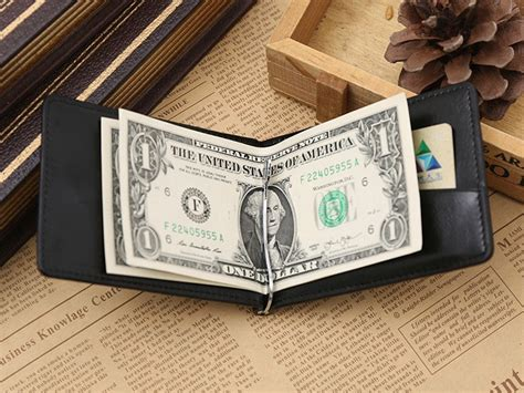 Gubintu Dompet Kulit Pria gubintu dompet pria model clip wallet 1002 black
