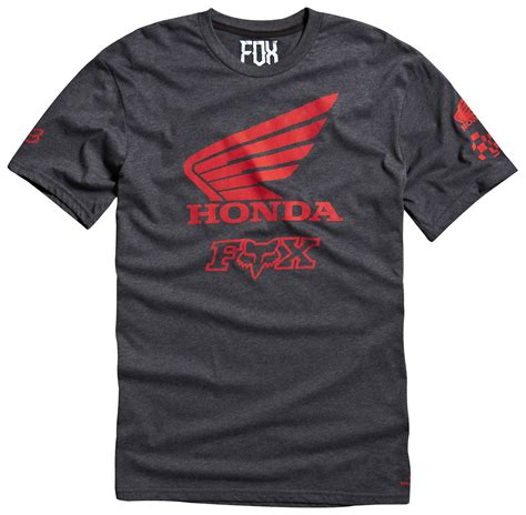Tshirt Fox Racing Black Gildanshop fox racing honda premium t shirt revzilla