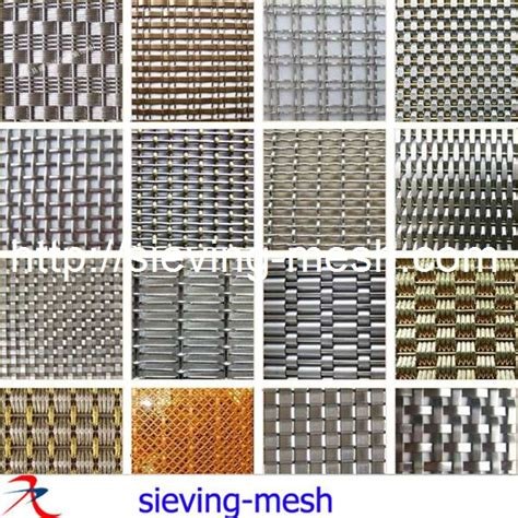 Flat Woven Decorative Wire Mesh For Cabinets Buy Flat