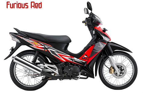 Cover Motor Honda New Supra X 125 Cw Sporty Mmc pilihan warna honda supra x 125 2012 kilaubiru