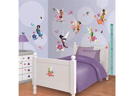 tinkerbell kinderzimmer deko wandtattoo disney fairies tinkerbell walltastic wandsticker