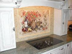 about our tumbled stone tile mural backsplashes and accent 1000 images about tre sorelle hand painted tile murals on