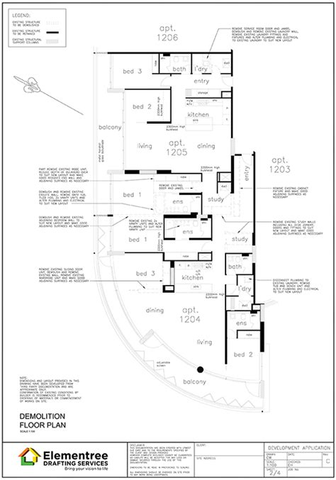 working drawing floor plan gallery