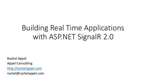 real time web application development with asp net signalr docker and azure books building real time applications with asp net signalr 2 0