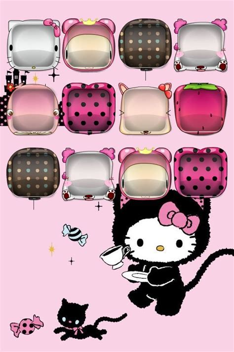 hello kitty ipod wallpaper 410 best images about iphone wallpaper on pinterest