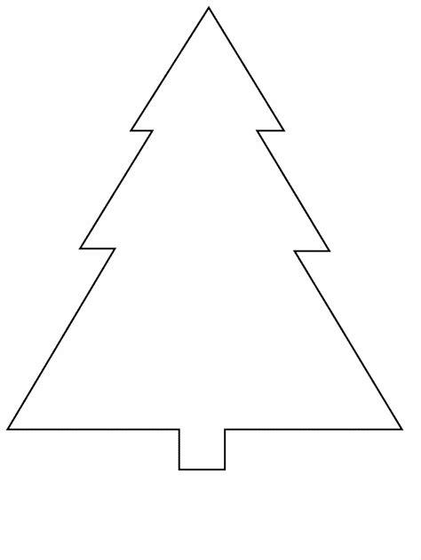 Kleurplaat Kerstboom Maak Er Een Leuke Kleurplaat Van Triangle Tree Coloring Page