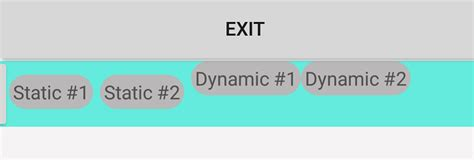 layoutinflater margin dynamic android margins not working when dynamically