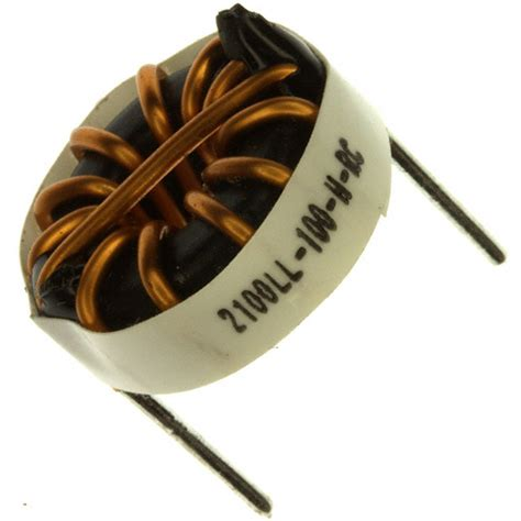 inductor 1mh 10a bourns jw miller inductors 28 images new bourns jw miller 6718 rc toroidal inductor 1 1mh 2