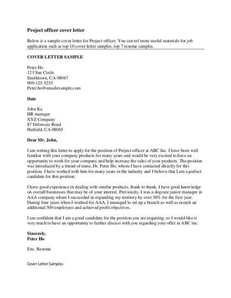 effective cover letters exles best letter sle