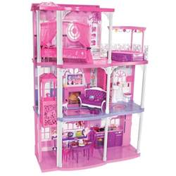 Barbie Dreamhouse by Barbie Pink 3 Story Dream Townhouse Barbie Pink 3 Story